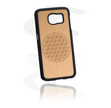 Mobile Case med Träinläggning och Lasered Wood Inlay