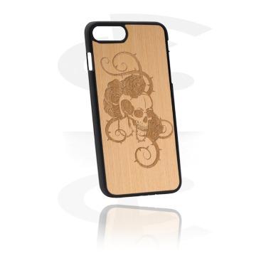 Mobile Case med Wooden Inlay och Lasered Wood Inlay