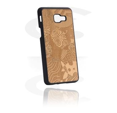 Mobile Case med Wooden Inlay og Lasered Wood Inlay
