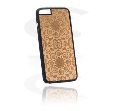 Funda para móvil con Wooden Inlay y Lasered Wood Inlay