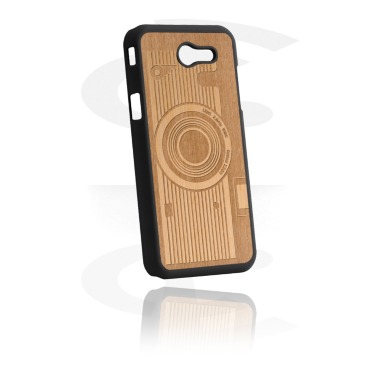 Mobile cases, Mobile Case with Wooden Inlay and Lasered Wood Inlay, Plastic, Wood