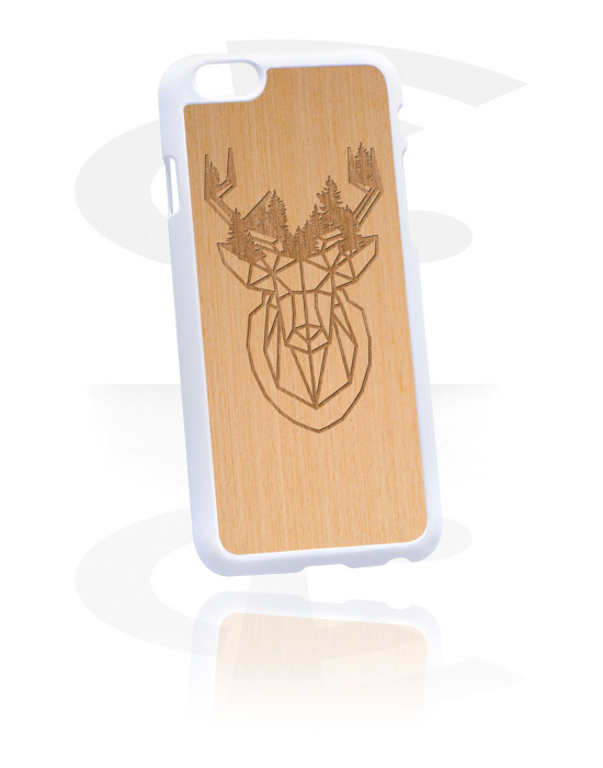 Pouzdro na mobil, Mobile Case, Plast, Jilmové dřevo