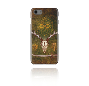 Mobile cases, Mobile Case with Mystic Skull Design, Plastic