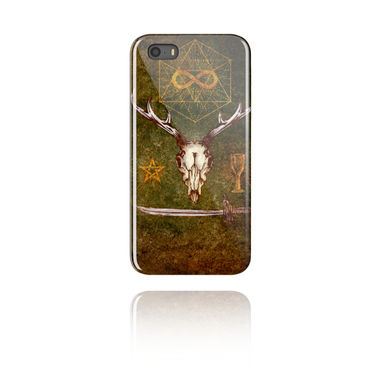 Mobile cases, Mobile Case with Mystic Skull Design, Plastic