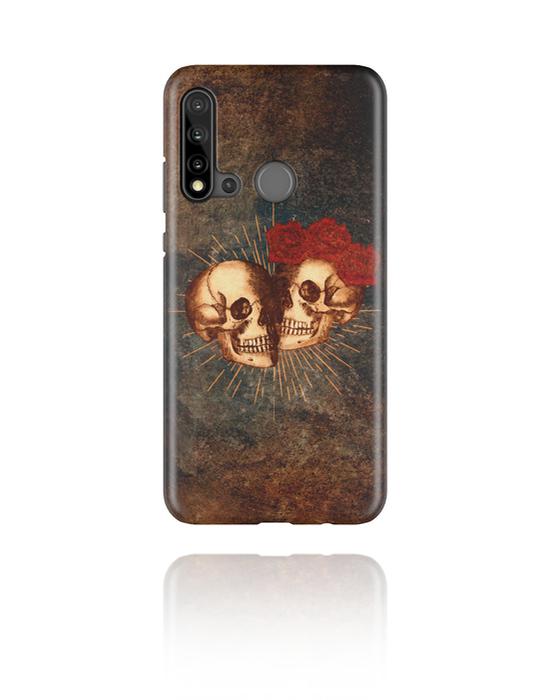 Pouzdro na mobil, Mobile Case s Mystic Skull Design, Plast