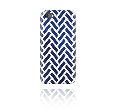 Mobile cases, Mobile Case with Navy Blue Mosaic, Plastic