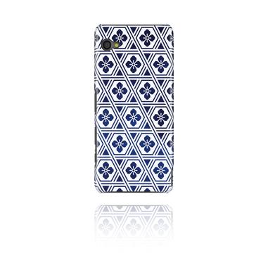 Fundas de móvil, Funda para móvil con Mosaico azul marino, Plástico