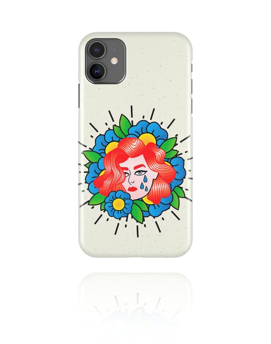 Cover per cellulare, Cover per cellulare con motivo rètro, Plastica