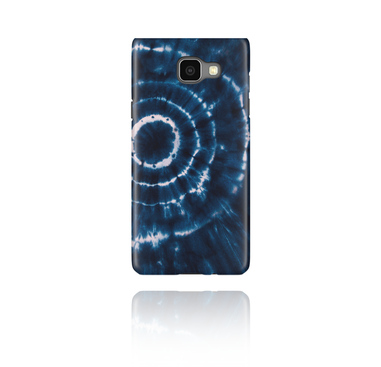 Mobile Case con blauem Batik-Design