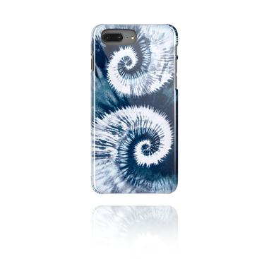 Mobile Case com blauem Batik-Design