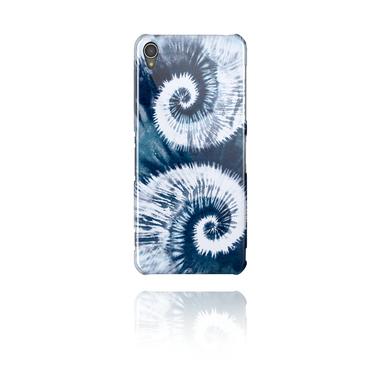 Cover per cellulare con stampa Batik blu