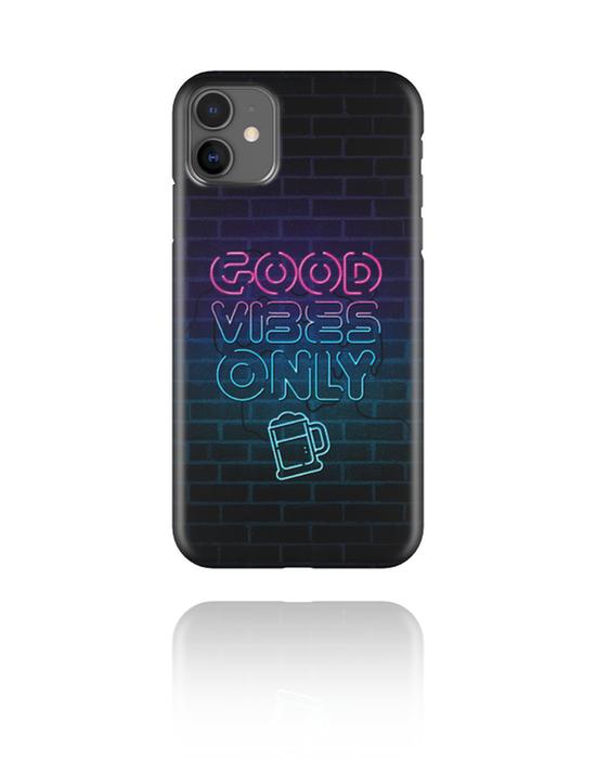 Pouzdro na mobil, Mobile Case s Neon Print, Plast