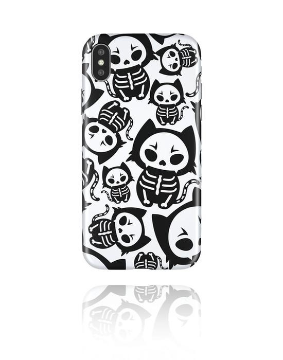 Cover per cellulare, Cover per cellulare con scheletro, Plastica
