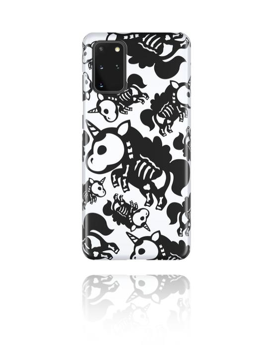 Pouzdro na mobil, Mobile Case s cute skeleton design, Plast