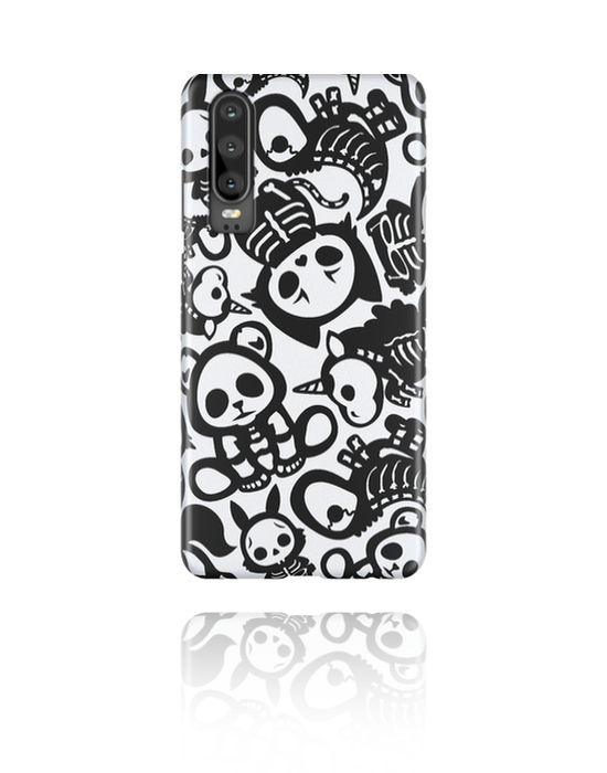 Phone cases, Mobile Case with cute skeleton design, Plastic