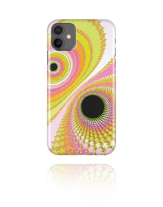 Phone cases, Mobile Case with Mandelbrot Design, Plastic