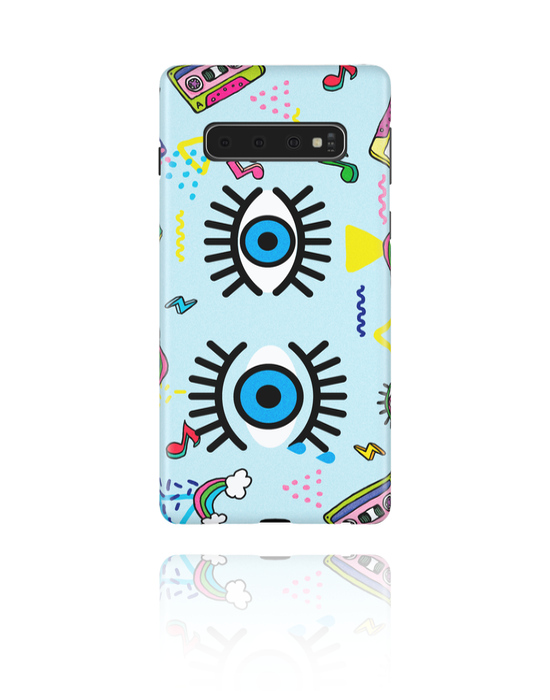 Phone cases, Mobile Case with Eye Design, Plastic