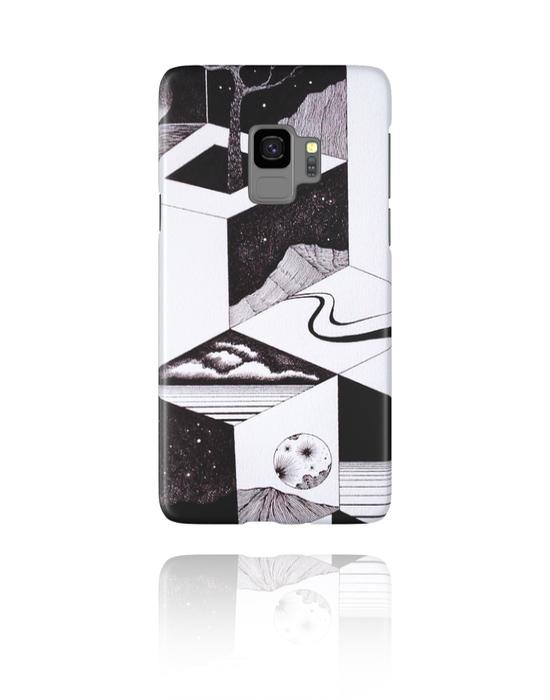 Pouzdro na mobil, Mobile Case s Jongrak Design, Plast