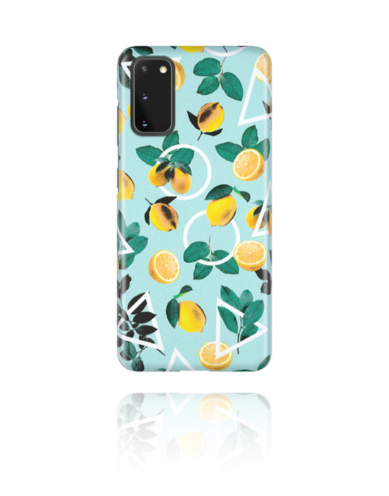 Phone cases, Mobile Case with Let it be Yellow Design, Plastic