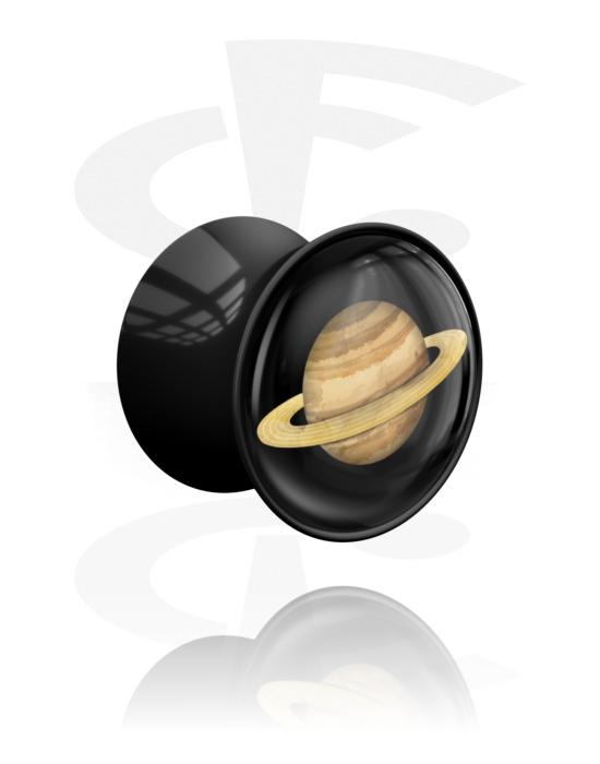 Tunnelit & plugit, Planet Plug 'Saturn', Akryyli