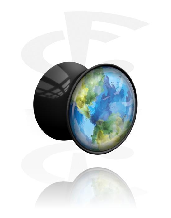 Tunnelit & plugit, Planet Plug 'Earth', Akryyli