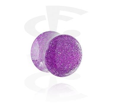 Glitter flared -plugi