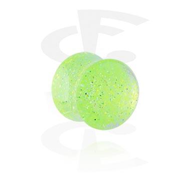 Glitter Flared Plug