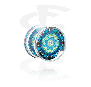 Плаг с Kaleidoscope Design