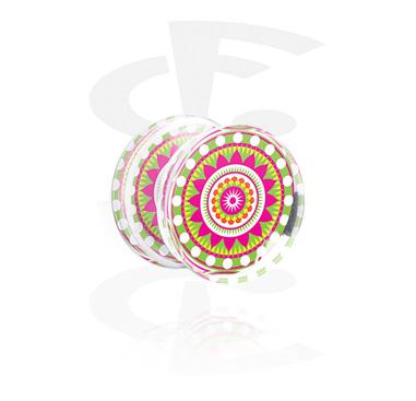 Plug com Kaleidoscope Design