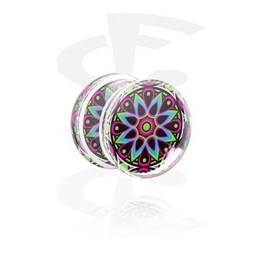 Plug med Kaleidoscope Design