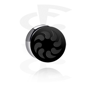 "Double Flared Plug ""BLACK BY CF""-Edition"
