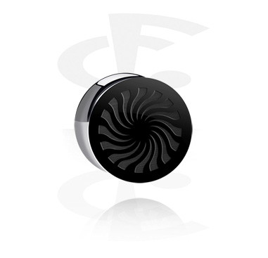 "Plug con doble acampanado ""BLACK BY CF""-Edition"