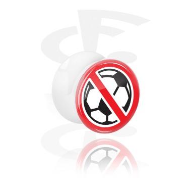 Plug anti-fútbol con doble acampanado