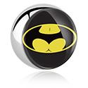 Pallot ja koristeet, Picture Ball, Surgical Steel 316L
