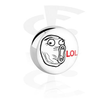 Bolas y Accesorios, Bola para barras de 1.6mm , Acero quirúrgico 316L