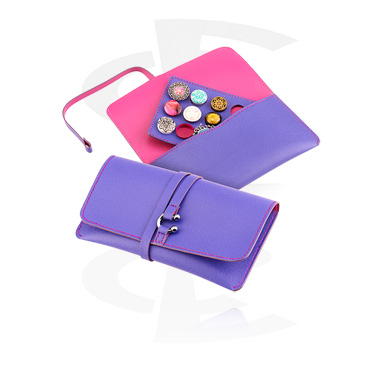 Plug Pouches, Piercing Pouch, Imitation Leather