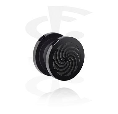 """""""BLACK BY CF""""-Edition Flesh Tunnel"""