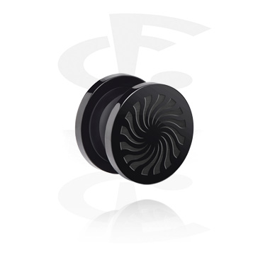 "Túnel flesh ""BLACK BY CF""-Edition"