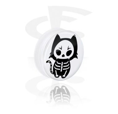 White Tunnel s cute skeleton design a Screw