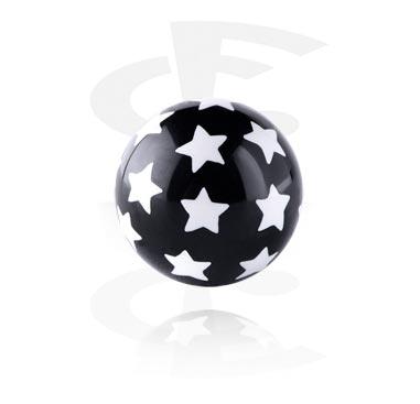Kuglice i zamjenski nastavci, Star Print Ball, Acryl