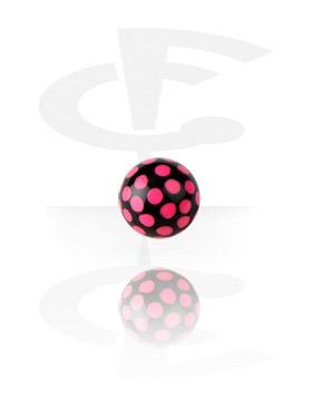 Kuglice i zamjenski nastavci, Round Print Ball, Acryl
