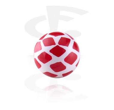 Diamonds Playing Card Ball