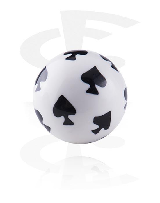 Kuličky, kolíčky a další, Ball, Akryl