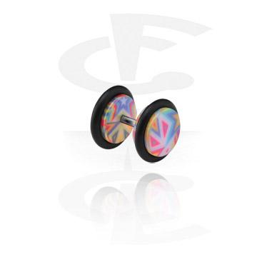 Lažni piercing nakit, Fake Plug, Acrylic
