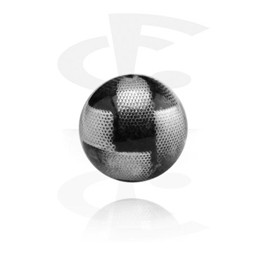 Kuličky a náhradní koncovky, Printed Ball, Acryl