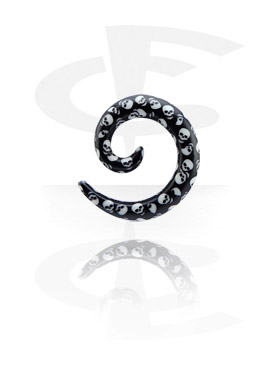 Accessoires pour étirer, Spirale pour étirement du lobe, Acryl
