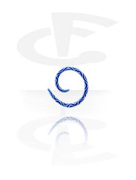 Pyrex Snake Spiral