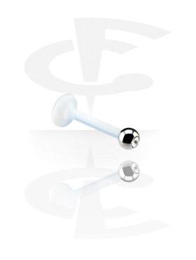 1,2 mm juvelprydet labrett