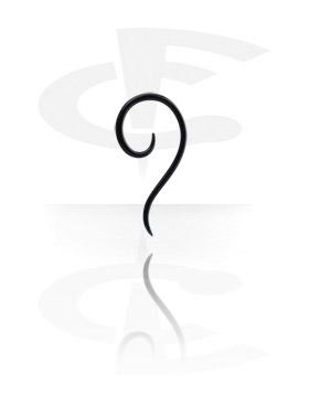 Espiral Thai de pírex para alargar