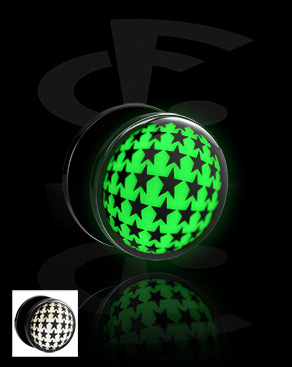 """Tunnel with """"Glow in the Dark""""-design"""